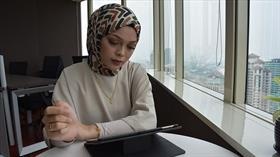 Malezyalı moda tasarımcısı Nurzulaikha: Türk dizilerinde aile ve komşuluk ilişkileri iyi işleniyor