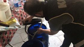 Pes! Adana'da süt sağım makinesiyle sahte rakı yapmışlar