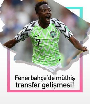 Fenerbahçe'de müthiş transfer planı: Moses yerine Musa