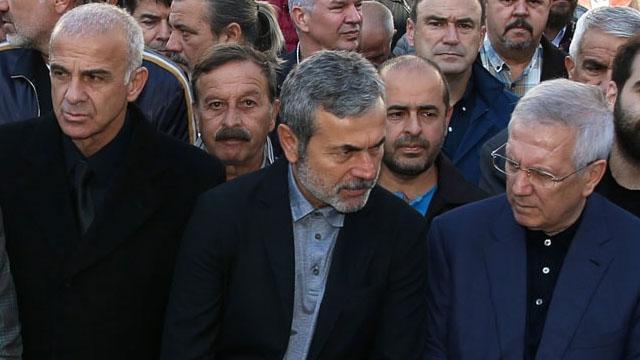 Oğuz Çetin'in babası Nihat Çetin Sakarya'da toprağa verildi