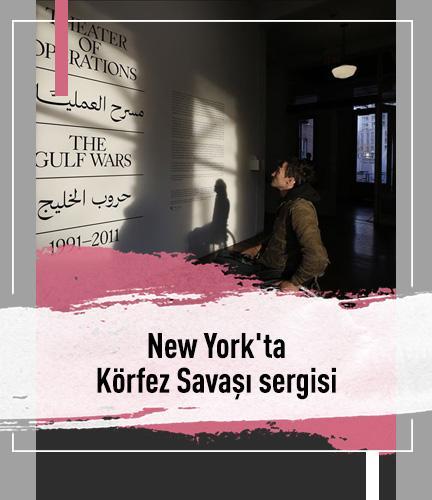 New York'ta Körfez Savaşı sergisi