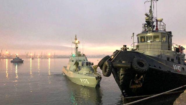 Ukrayna savaş gemilerini teslim edecek!