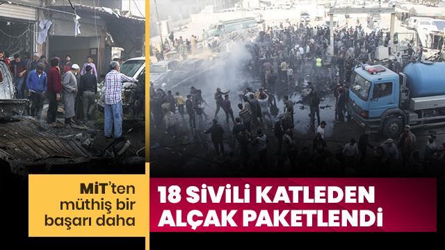 18 sivili katleden o teröristi MİT paketledi!