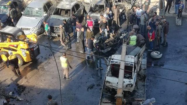 El Bab'da 18 kişinin hayatını kaybettiği terör saldırısının faili yakalandı