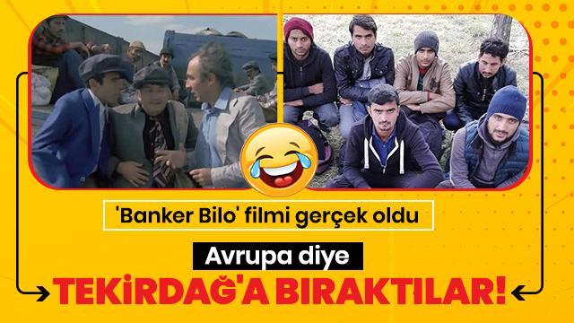 'Banker Bilo' filmi gerçek oldu! Avrupa diye Tekirdağ'ın Muratlı ilçesinde bırakıldı