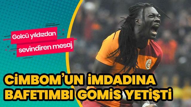 Galatasaray'ın imdadına Bafetimbi Gomis yetişti