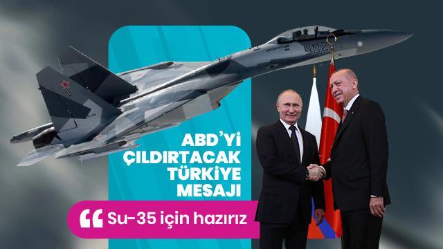 ABD'yi çıldırtacak Türkiye mesajı: Biz hazırız!