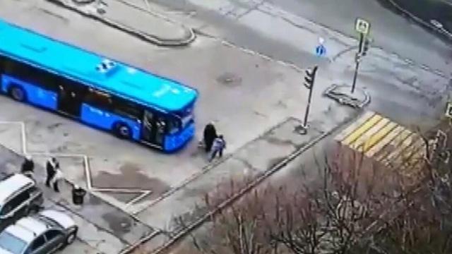 Otobüs şoförünün ihmali yaşlı kadının hayatına mal oldu
