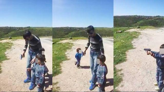 Silivri'de çiftlik evinde çocuklara silahla atış yaptıran şüpheli yakalandı