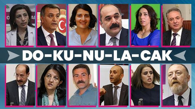 HDP Eş Genel başkanlarının aralarında bulunduğu 12  milletvekiline ait dokunulmazlık dosyaları TBMM'de!