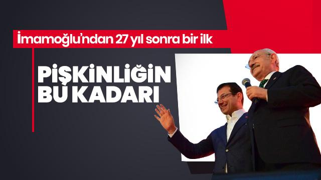 AK Parti yönetimini 'Londra'daki bir avuç tefeciye yüksek faiz ödüyorlar sözleriyle' eleştiren CHP lideri Kemal Kılıçdaroğlu, İBB Başkanı Ekrem İmamoğlu'nun tahvil satmak için Londra'da kredi kuruluşlarıyla yaptığı görüşmelere ses çıkarmadı.