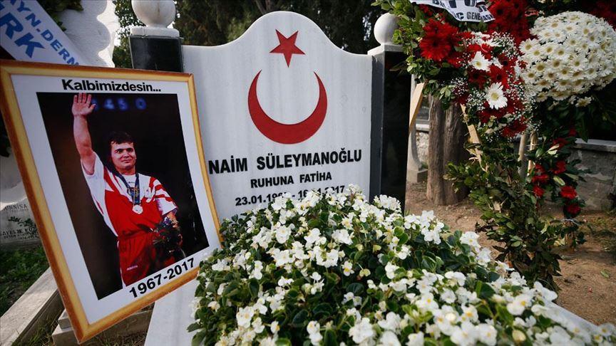 Naim Süleymanoğlu vefatının ikinci yıl dönümünde anıldı