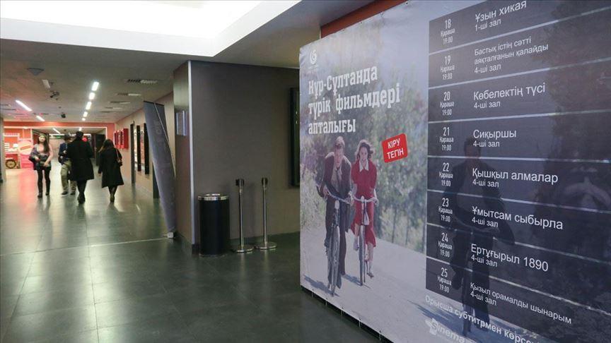 Kazakistan'da Türk Filmleri Haftası başladı