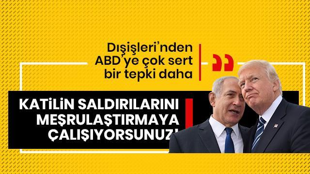 Türkiye'den sert ABD çıkışı!