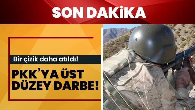 PKK'ya üst düzey bir darbe daha!