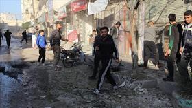 Terör örgütü YPG/PKK Tel Rıfat'tan Azez'deki sivillere saldırdı