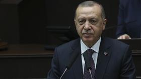 AK Parti Grup Toplantısı'nda konuşan Başkan Erdoğan'dan F-35 mesajı: Başka arayışlara girmek zorunda kalacağız