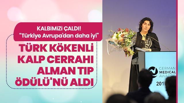 Türk Kalp Cerrahı Alman Tıp Ödülü'nü aldı