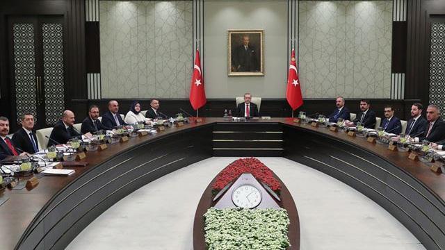 Cumhurbaşkanlığı Kabinesi, Başkan Erdoğan başkanlığında toplandı