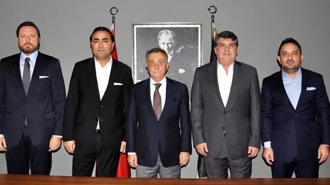 Beşiktaş'ta Ahmet Nur Çebi ve Serdal Adalı buluştu