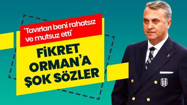 Aboubakar'dan Fikret Orman'a şok sözler: Beşiktaş başkanının davranışları beni rahatsız ve mutsuz etti