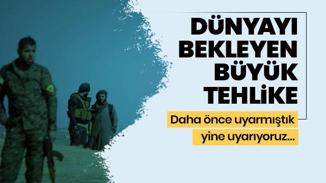 YPG, Avrupa ülkeleri açısından çok ciddi bir terör tehdididir
