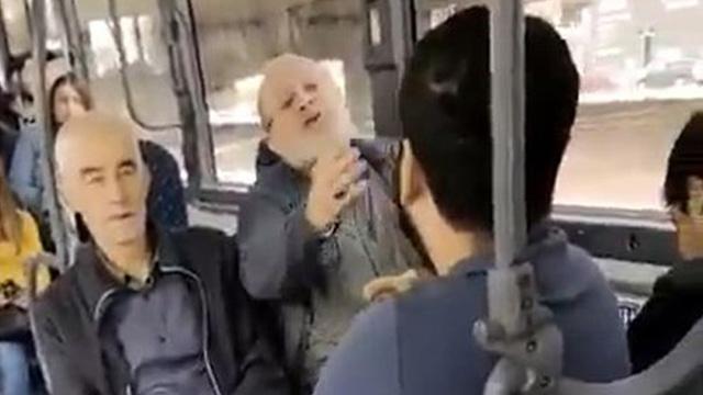 Otobüste genç kadına sözlü taciz: Karşımda oturma kalk, gözüm sana kayıyor
