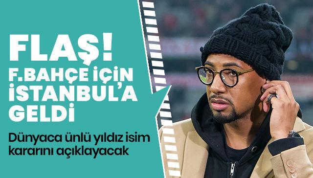 Fenerbahçe, Jerome Boateng'i İstanbul'a getirip resmi görüşmelere başladı!