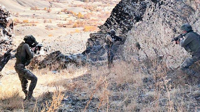 Şırnak'ta PKK'ya üst düzey darbe
