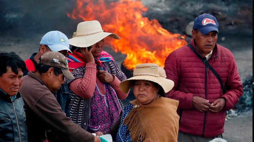 Darbe sonrası Bolivya'da gıda ve yakıt sıkıntısı yaşanıyor