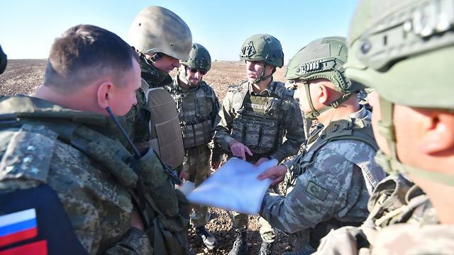 Türk ve Rus askeri unsurlarının 9. ortak kara devriyesi tamamlandı