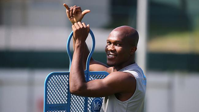 Hertha Berlin'in Anthony Nwakaeme için devre arasında Trabzonspor'un kapısını çalacağı iddia edildi