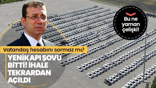 """Ekrem İmamoğlu'nun """"Yenikapı şovu"""" bitti! İhale tekrardan açıldı..."""