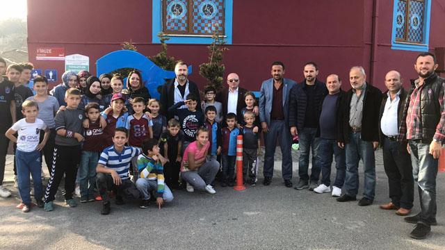 Trabzonspor'dan taraftarlarıyla Beykoz'da özel buluşma