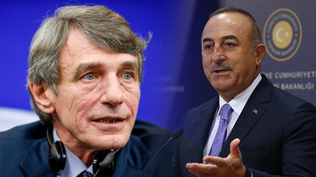 Mevlüt Çavuşoğlu'ndan AP Başkanı Sassoli'ye tepki: İkiyüzlü tutumun yeni bir örneğidir