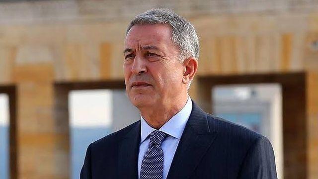 Milli Savunma Bakanı Akar: Yaptığımız harekatların sonucu terör koridoru, terör devleti oluşturulması hayali bitti