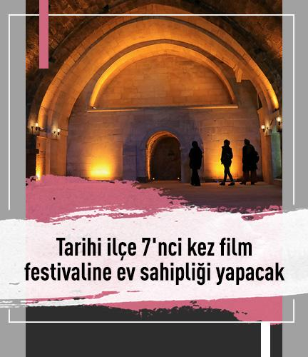 Tarihi ilçe 7'nci kez film festivaline ev sahipliği yapacak