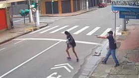 Para isteyen evsiz kadını vurdu