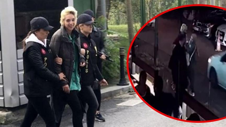 Beşiktaş'ta öğretmene saldıran kadın tutuklandı