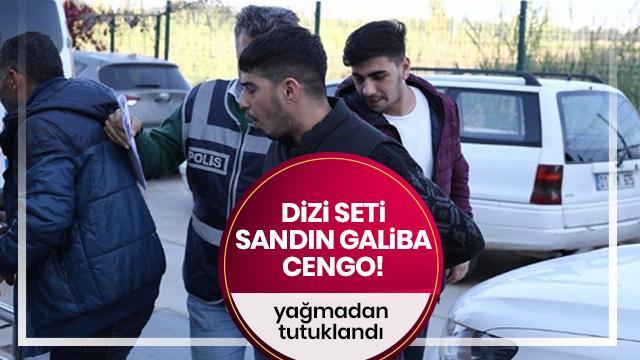 Adana'da dizi oyuncusu yağma suçundan tutuklandı
