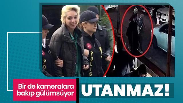 Beşiktaş'ta başörtülü öğretmen kadına saldırmıştı! Utanmadan gülerek gitti