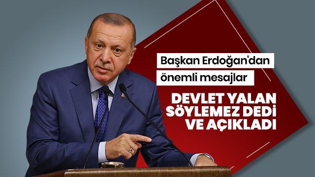 Başkan Erdoğan konuşuyor - İzle