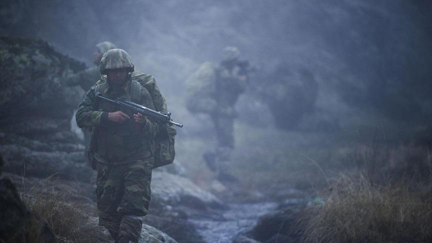 Gri kategoride olmak üzere  4 PKK'lı terörist Güvenlik Güçleri'ne teslim oldu