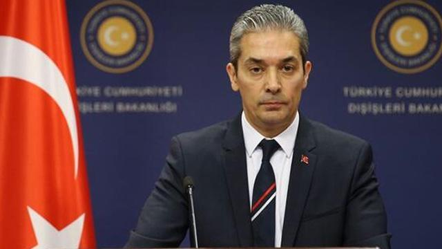 Dışişleri Bakanlığı sözcüsü Hami Aksoy: Türkiye'nin yabancı teröristler sorununa dair tutumu nettir