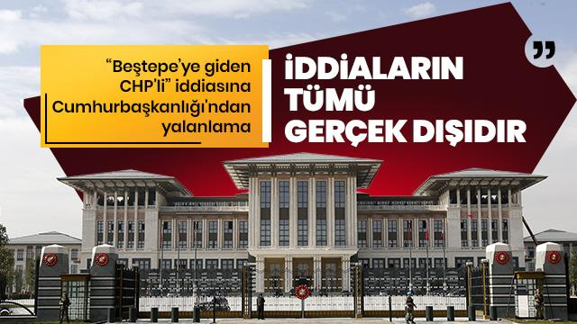 Son dakika... 'Beştepe'ye giden CHP'li' iddiasına yalanlama... Altun: Gerçek dışı ve hayal ürünü
