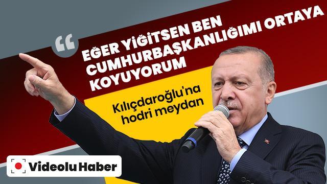 Başkan Erdoğan İzmir'de