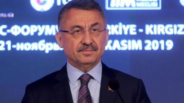 Cumhurbaşkanı Yardımcısı Oktay: Kırgızistan ile FETÖ ile mücadele konusunda mutabakata vardık