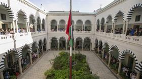 Tunus'taki okullarda eş zamanlı 'Filistin'le dayanışma' etkinliği