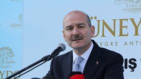 İçişleri Bakanı Soylu: Evden hırsızlıklarda yüzde 45'in üzerinde azalma oldu