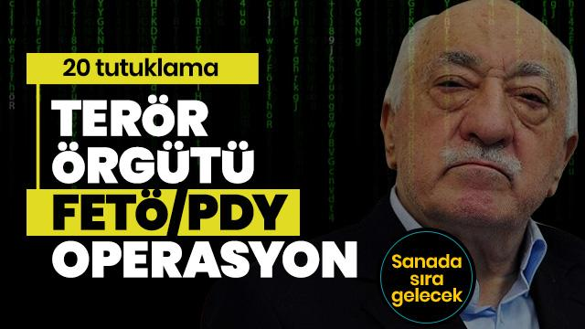 Ankara'da FETÖ/PDY terör örgütüne operasyon: 20 tutuklama